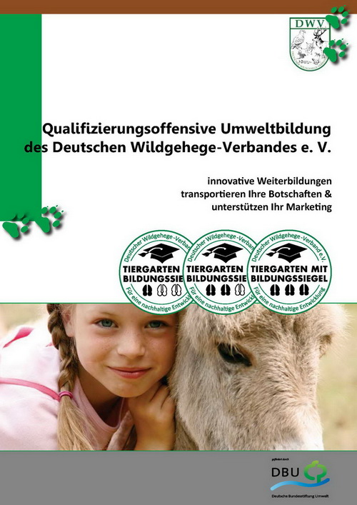 Broschuere Umweltbildung DWV